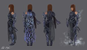 Fractal Armor Concept by PeterPrime