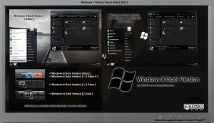 [ 2012 theme ] Windows 8 Dark Version by HKK98