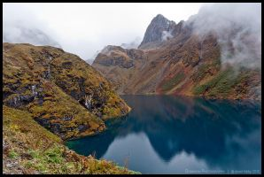 Lake near Maurothang by Dominion-Photography