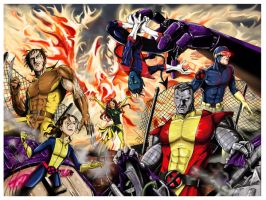 Uncanny X-Men by jlonnett