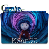 Coraline Icon by KSan23