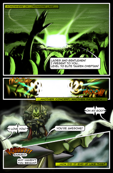 The Path of Skulls Pg.1 by SoberSatellite