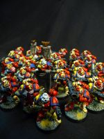 Yellow Griffon Marines by Solav