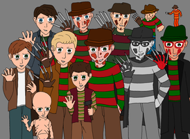 The Krueger Army by moniek-kuuper