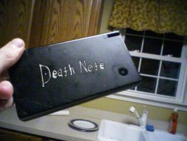 Death Note Nintendo Dsi by Town484