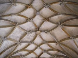 Star ornamented ceiling by DamaInNero