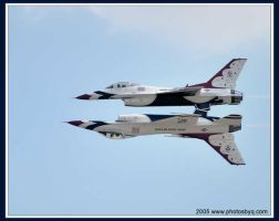 Thunderbirds Mirror Pass by photosby-q