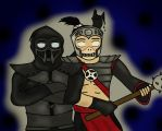 * Noob Saibot and Havik * by xMkBaNdIGoThx