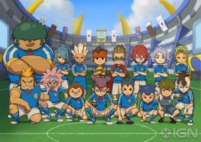 inazuma eleven group by demon-XxXzerooXxX