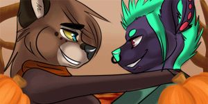 Spoopy Fall icons [ANIMATED] by Terrawolfdog