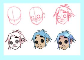 2D head process by Psychoon