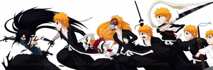 BLEACH Chibi Ichigo Evolution by Mizashi
