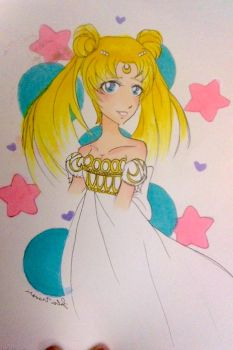 Our princess Serenity by hippiekitty123