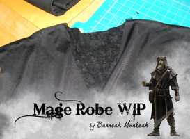 Stage 8: Mage Robe WIP by Bunneahmunkeah