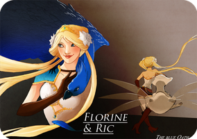 FLorine and ric by hachiko