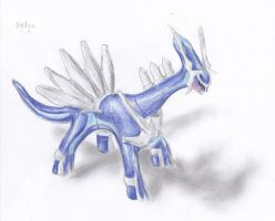 Dialga by kanineious
