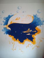 Dreamwhale by isabel10