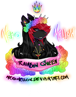 Rainbow Queen by NekoMellow