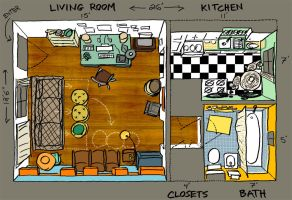 Apartment Therapy Small Cool 2008 Floorplan by nongravity