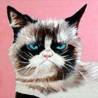 Grumpy Cat by mj-magic