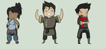 Legend of Korra Sticker Set by WaywardDoodles