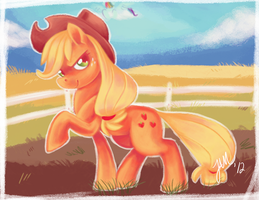 Applejack by Jabbym