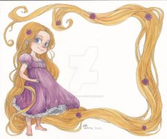 Rapunzel by Little-Mana