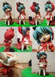 hand made red hood hatsune miku by RacoonKun