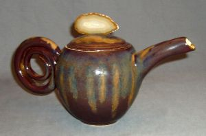 agate curl tea pot by cl2007