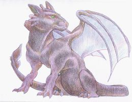 Toothless by iMeltedCrayon