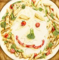 Pasta Face by DonnaKim