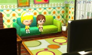 Skyler and Jacob watching TV by GWizard777