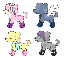 Sock Puppies (OPEN) by Adoptabelle