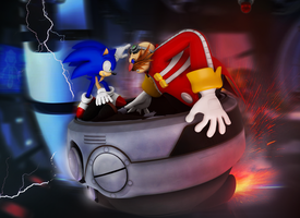 Sonic Vs Eggman Showdown!, EGGMAN WEEK FINALE by Nibroc-Rock