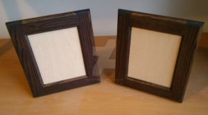 Cabinet Door Style Picture Frames by LananteDesigns