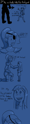 UNDERTALE COMIC: Young Me Is A Bad Protag Pg4 by InsanelyADD