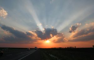 Highway to the sun by mariustipa