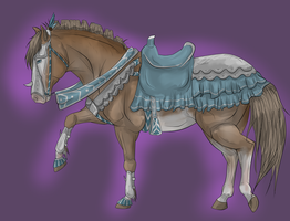 Anez Dragon Hunting Tack by QueenHalloween