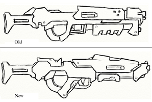 Shotgun re-design by JxAir