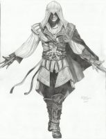 Assassins Creed 2 Ezio Auditore Da Firenze by Thefreerunner1995