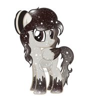 Galaxy Oreo Pony by DigiRadiance