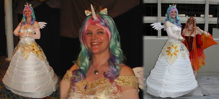 Cosplay: Princess Celestia from My Little Pony by TempestFae