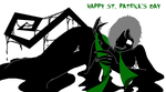 Shadowsona's St P Day by KiraNightViolet