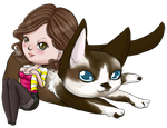 Trusty companion by Cookie-Kitteh