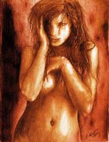 woman by Tr4pito