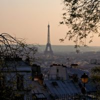 Une vue de Montmartre by positively