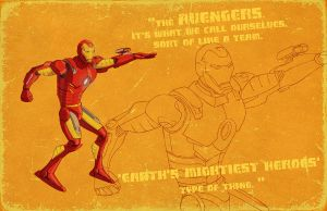 Iron man animated design by StephaneRoux