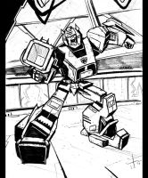 WFC Bumblebee lines by dcjosh