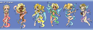 Adoptable: Angels OPEN by Terrysaur