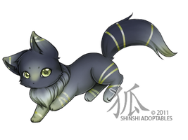 chibiwolf1005 : Daymark by ShinshiAdoptables